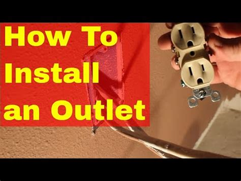 how to install an electrical outlet loop wiring exle