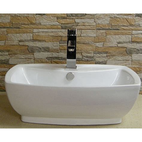 fine fixtures white vitreous china oval vessel sink white vessel bathroom sink befon for
