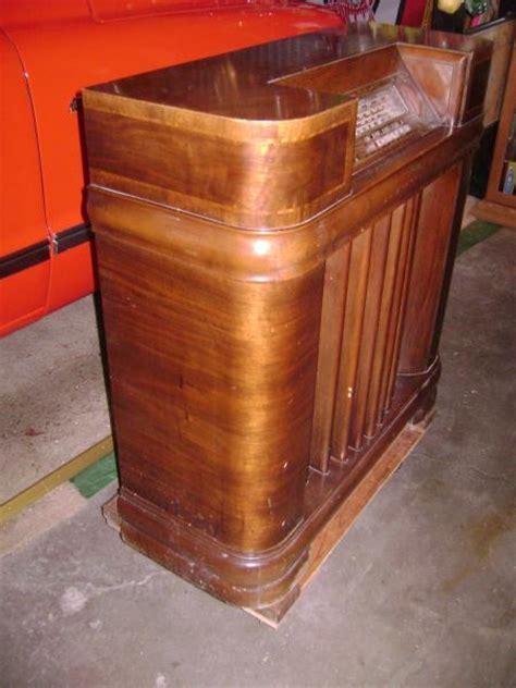 Vintage Floor Radio by Vintage Philco Floor Model 41 295 Radio 15 Inch