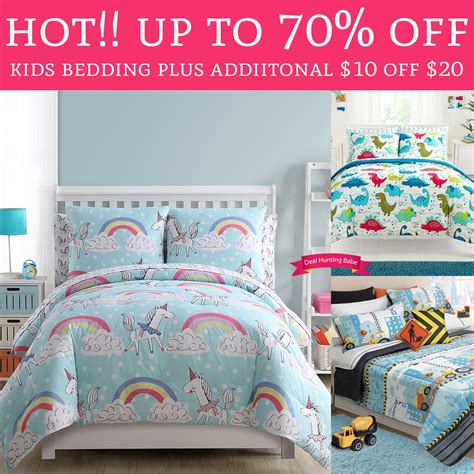 bedding plus hot up to 70 off kids bedding plus additional 10 off