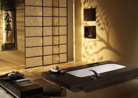 Elegant japanese bathroom decorating ideas in minimalist style and neutral colors