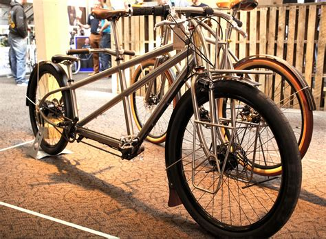 Handmade Bicycle Frames - really useful bikes at the bespoked handmade bicycle show