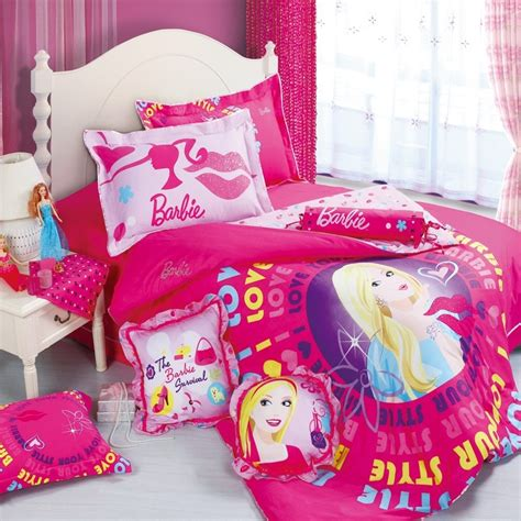 barbie comforter set red barbie comforter cover and sheet gilrs bedding