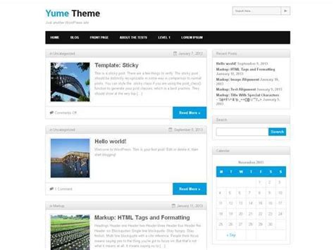wordpress themes free easy to customize 10 best free simple wordpress themes of 2014