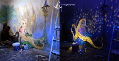 glow in the dark murals glow in the dark bedroom murals the future of decorating