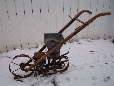 Antique Seed Planter For Sale by Antique American Planet Jr 300 Seeder Planter Vintage Farm