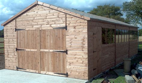 sy sheds 20 x 10 garden shed construction diy
