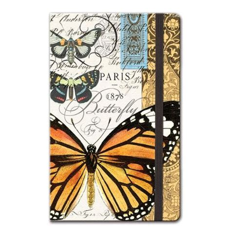 design works journal michel design works pocket journal butterflies 3 3 4 by