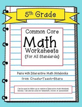 Common Math 5th Grade Worksheets by 1000 Images About Common 5th Grade Math On