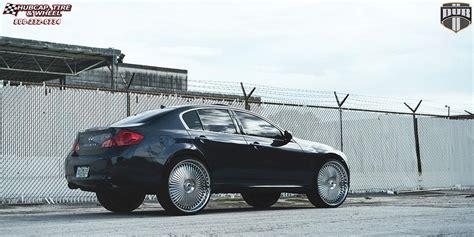 infiniti g35 chrome rims infiniti g35 dub s777 bellagio wheels chrome