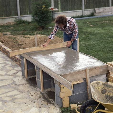 Fabriquer Un Barbecue En Dur by Barbecue En Briques De Parement Mont 233 Es Sur Parpaings