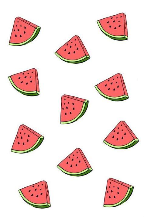 pattern iphone tumblr watermelon wallpaper art design pinterest summer