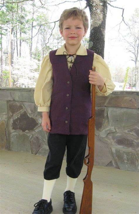colonial patriot costume  boys sizes