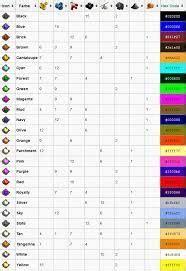 farben mischen tabelle die besten 25 farbmischtabelle ideen auf