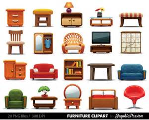 Kitchen Furniture Names Meubles Clipart Clipart Meubles Maison D 233 Coration Clipart