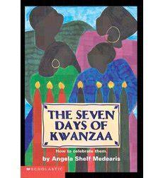 the seven days of kwanzaa by angela shelf medearis