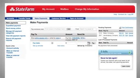 STATE FARM MAKE A PAYMENT   Online Payment With State Farm