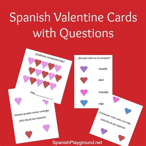 printable valentine quotes 18 best images about spanish holidays on pinterest