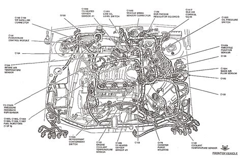 ford part diagrams diagram ford taurus parts diagram