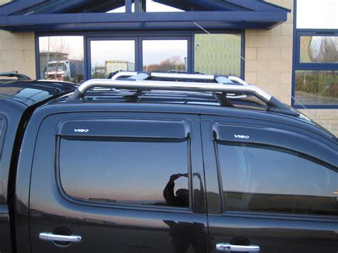 Toyota Hilux Roof Rails Roof Bar Kit Rack For Toyota Hilux Mk6 Vigo Chrome