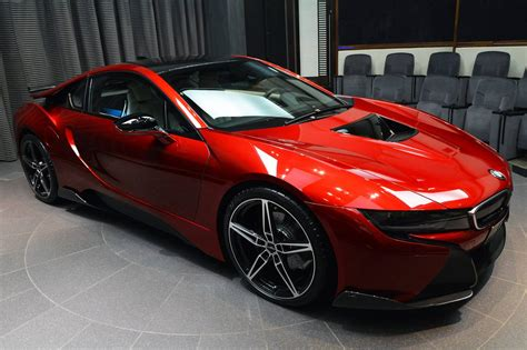 red bmw 2016 this is the bmw i8 made for the princess of abu dhabi