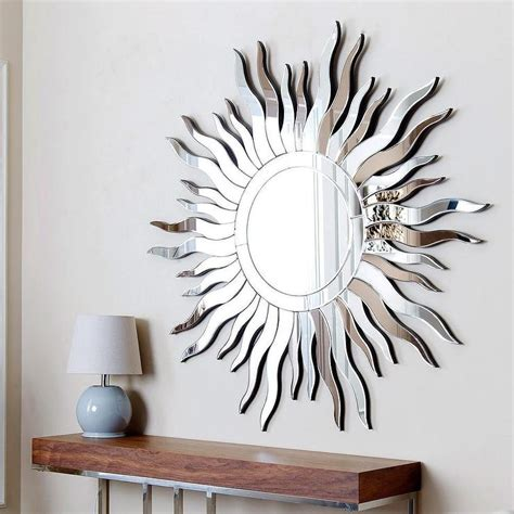 mirror for wall decor abbyson living sol wall mirror