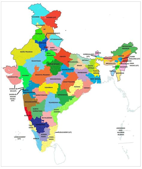 indian states the world view by jashan need for more states in india