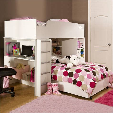 bunk beds for girls cool loft beds for girls images 5