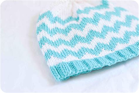 chevron knitting pattern and lovely the chevron baby hat pattern is finally