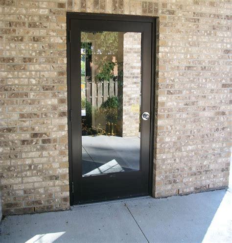 Aluminum Exterior Door Cross Aluminum Commercial Entry Doors