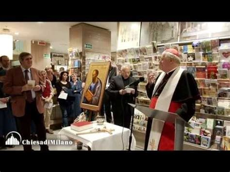 san paolo libreria il cardinale scola ha benedetto la nuova libreria san
