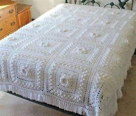 crochet coverlet pattern crochet bedspread beautiful crochet patterns and