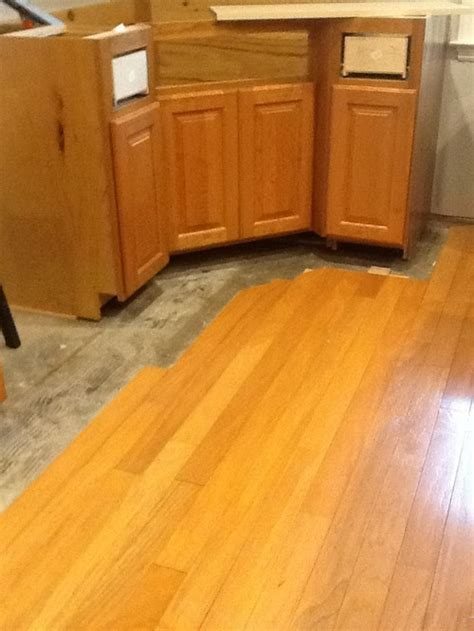 What color floors with natural cherry cabinets?