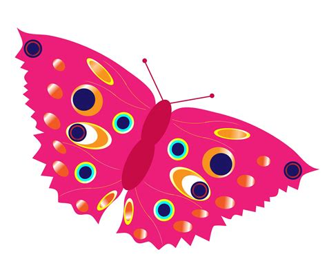 pink butterfly cliparts cliparts art inspiration