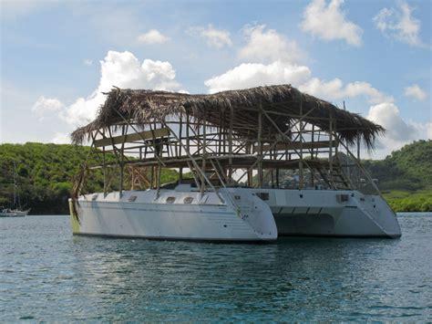 Floating Tiki Bar July 9 20 2012 Grenada
