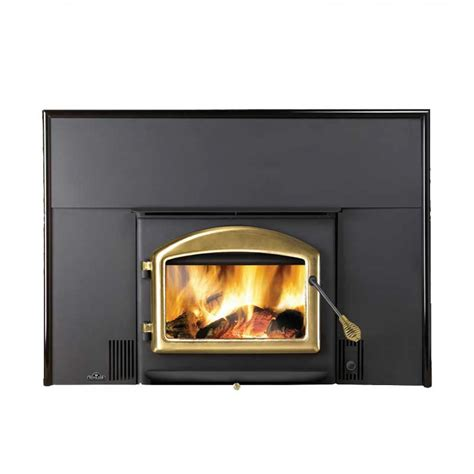 woodburning fireplace insert napoleon oakdale epi 1101 wood burning fireplace insert at