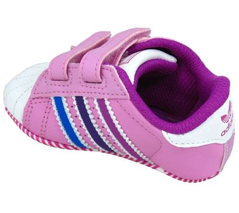 adidas trainer baby crib superstar pink