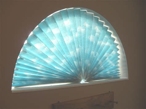 Half Moon Blinds For Windows Ideas Sue Runyon Designs How To Make A Window Fan Shade