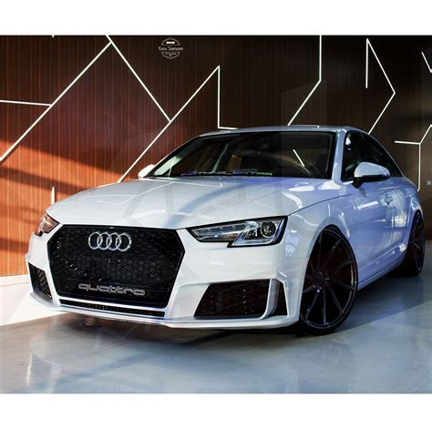 Audi A4 B9 2015 by Audi A4 S4 B9 2015 To Rs4 Front Grill Quot Gloss Black With