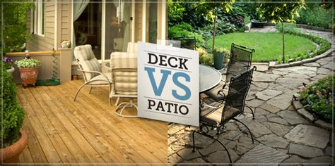 a deck or patio can really extend your home s living space