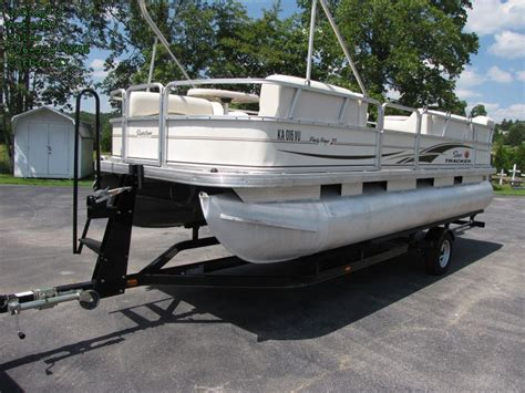 tracker boats europe sun tracker party barge 21 boat for sale from usa