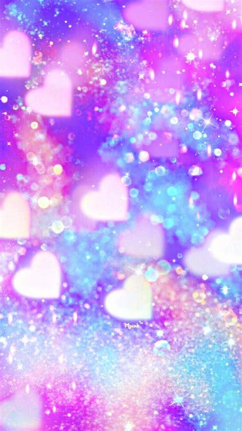 shimmer hearts wallpaperlockscreen girly cute
