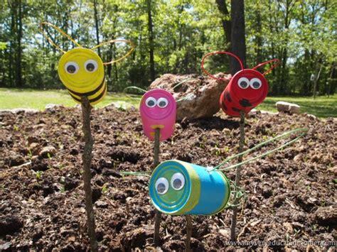 imagenes de jardines reciclables manualidades con materiales reciclados para el jardin