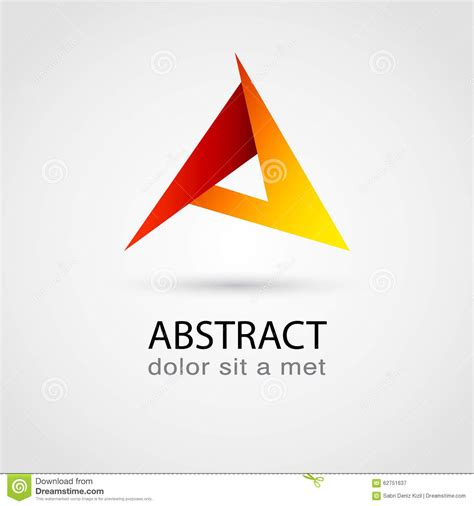 design vector logo illustrator abstract logo design template stock vector image 62751637