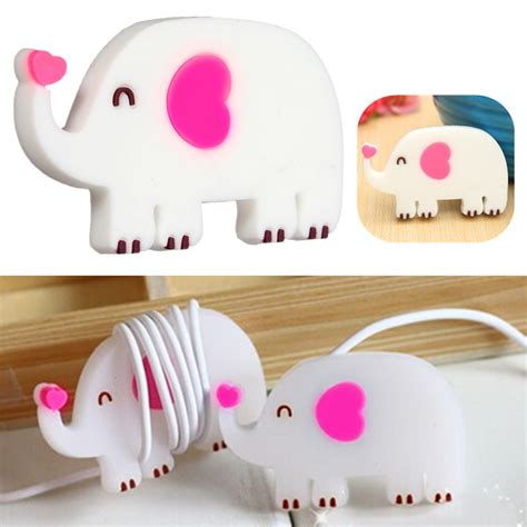 Animal Earphone Winder animal earphone headphone cable cord organizer
