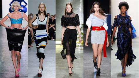 what is in style 2017 nyfw spring summer 2017 trend reportfashionela