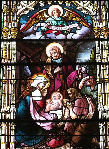 filesaint joseph catholic church somerset ohio stained glass  nativity   lordjpg