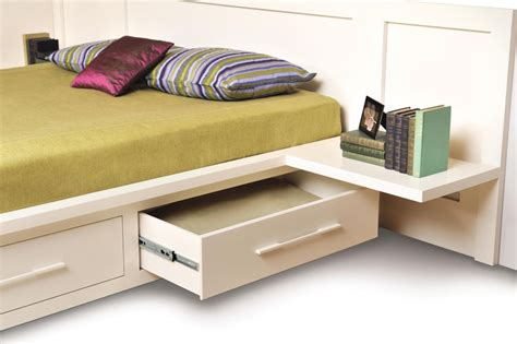 Nightstand With L Attached by Matching Integrated Shelf Nightstand Copeland Moduluxe
