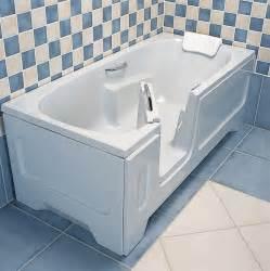 tub with door vitaactiva lying bathtub lanzarote