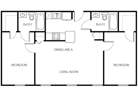 2 bed 2 bath floor plans floor plans the apartments at ames privilege